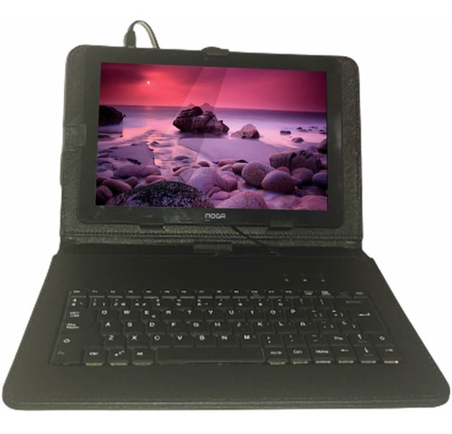 Estuche Funda Teclado Usb Tablet 10 Noga Nkb004 Calidad Full