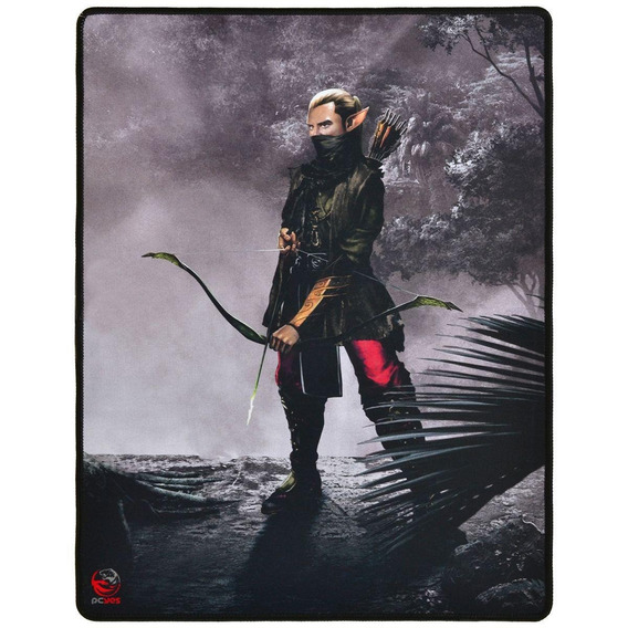Mouse Pad Gamer Pcyes Rpg Archer 40x50 Cm