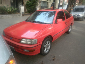 Ford Escort Xr3 Cupe Unica Mano Solo Para Entendidos Oldcars