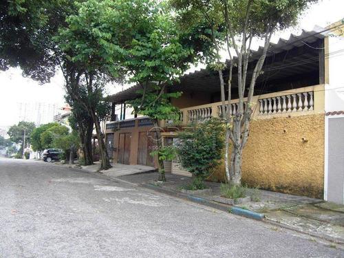 Imagem 1 de 30 de Casa Com 2 Dormitórios À Venda, 231 M² Por R$ 530.000  Vila Aquilino - Santo André/sp - Ca0806