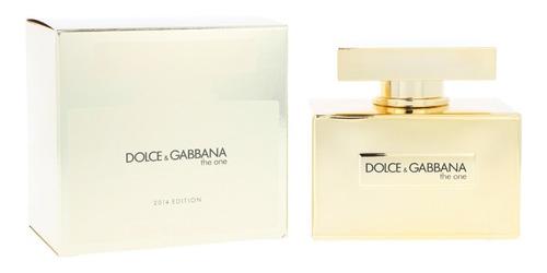 Perfume Dolce Gabbana The One Gold 2014 Edition 75ml