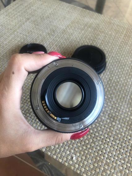 Lente 50mm Canon 1.8
