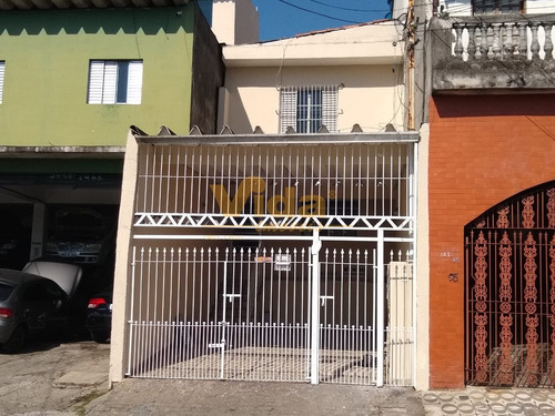 Imagem 1 de 15 de Assobradada A Venda Em Vila Lauci - Osasco, Sp - 45374