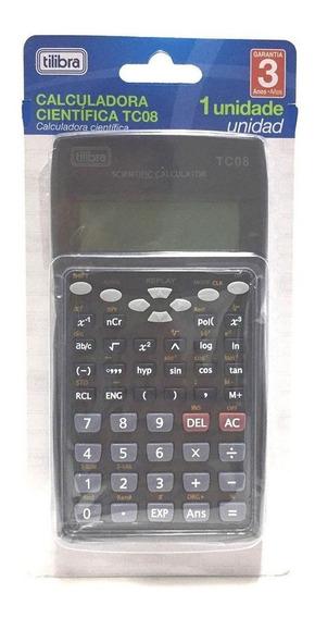 Calculadora Cientifica Tilibra Tc08 Frete Grátis