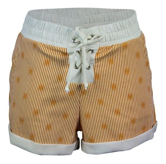 Bermuda Short Para Dama Deportivo Playero Rs