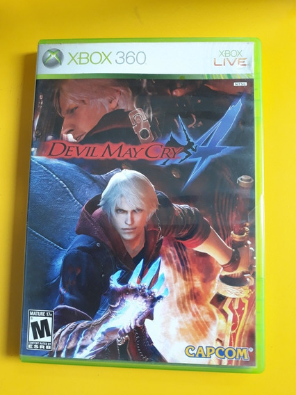 Jogo Devil May Cry Original Cometo Xbox 360 Manual
