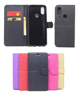 Capa Capinha Carteira Xiaomi Mi A2 Flip Case Cores Lisas