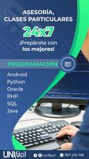 Clases Particulares Programación Python Java Php Oracle Sql