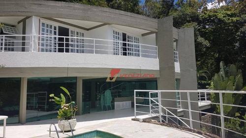 Casa Residencial Alto Padrão À Venda, Sesmaria, Ubatuba. - Ca0385