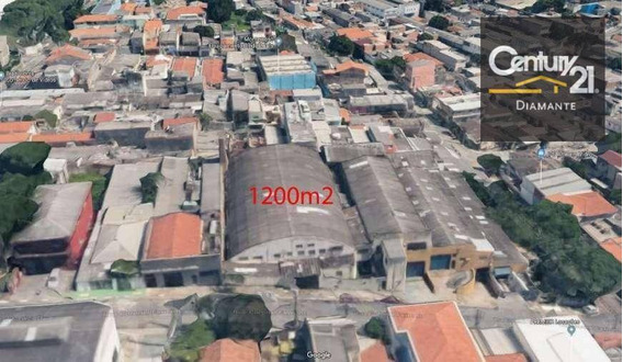 Galpão À Venda, 1200 M² - Vila Moraes - São Paulo/sp - Ga0084