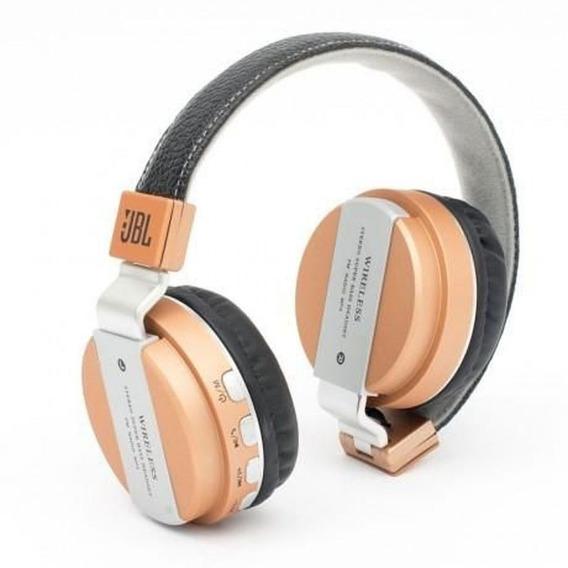 Kit 4 Fone Bluetooth Jb55 Headset Metal Super Bass Wireless