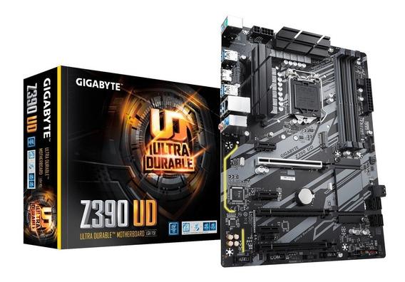 Motherboard Pc Gigabyte Z390 Ud Intel 1151 Ddr4 Usb 3.1 2