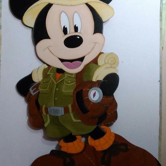 Mickey Safari Figura Fibrofacil
