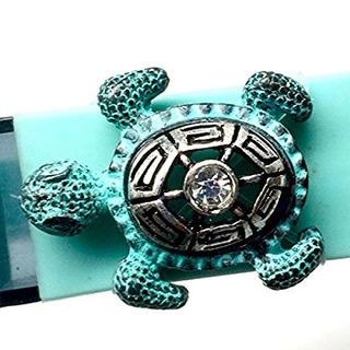 Fitband Bling Venda De La Aptitud De Accesorios Sea Turtle