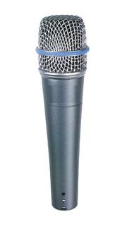 Micrófono Parquer 57 Beta Dinámico Supercardioide Cuota