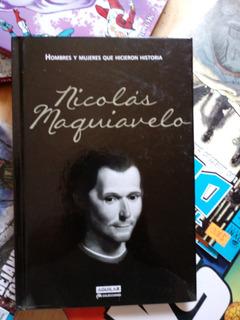 Libro Nuevo Nicolás Maquiavelo Con Ilustraciones Aguilar