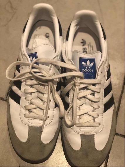 Zapatillas adidas Samba Talle Us 8 1/2 Regalo Como Nuevas!!!