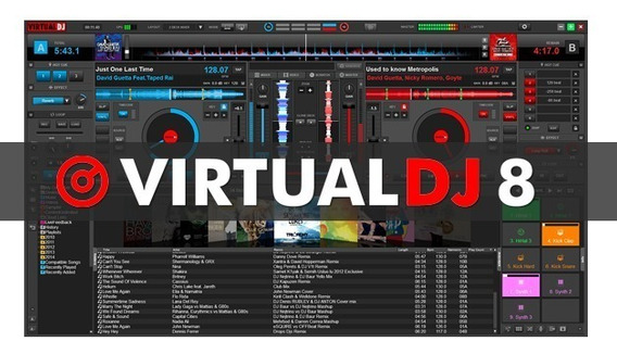 Virtual Dj 8.2 Para Todas As Controladoras + Plugins + Skins