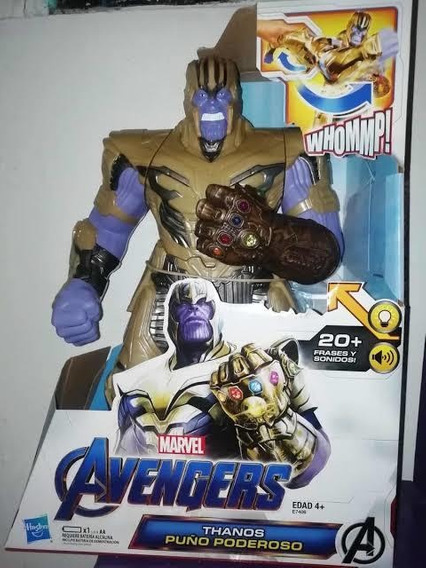 Thanos Puño Poderoso Figura De Acción Grande 2x1