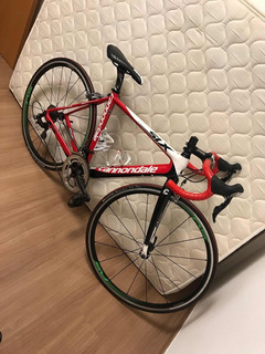 Bike Carbono Cannondale Six Speed Road Tamanho 50