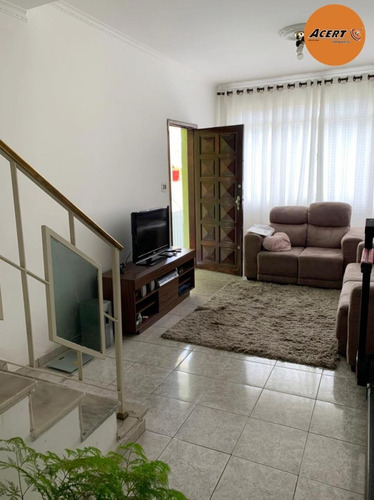 Imagem 1 de 14 de Sobrado Com Cômodos Amplos - Parque Casa De Pedra - 34897