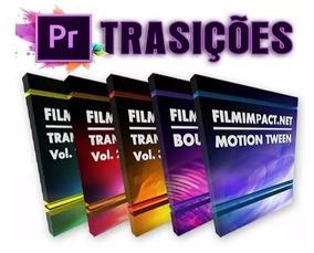 Transições Premiere Cc Filmimpact 1, 2, 3 + Bounce Pack