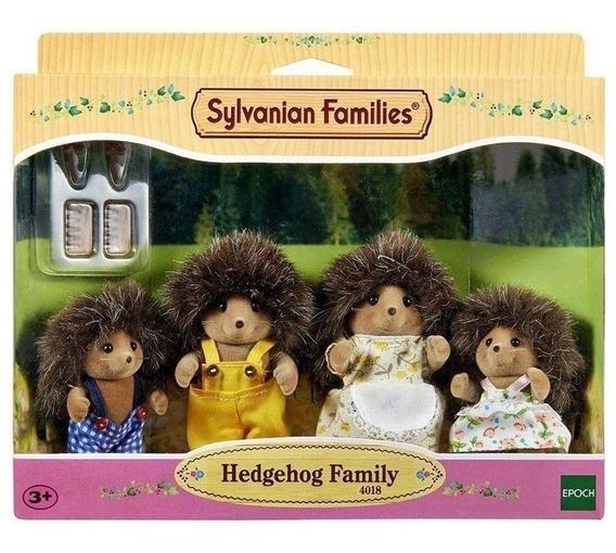 Bonecos Brinquedo Família Porco Espinhos Sylvanian Families