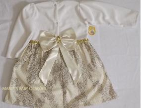 Promoção Vestido Bebê, Menina Outono/inverno