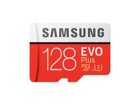 Cartão Micro Sdxc Samsung Evo 128gb Classe 10 100mb/s Uhs-3