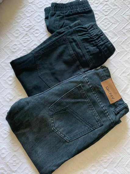 Jeans Old Navy (negro) Xl Y Dkny (azul)talle 16 $1.400 (2)