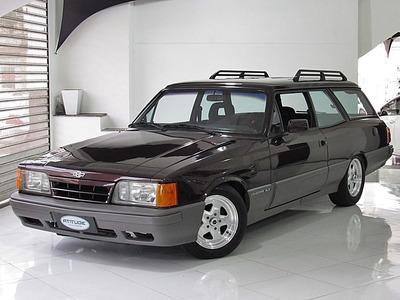 Chevrolet Caravan 4.1 Comodoro Sl/e 12v Álcool 1992