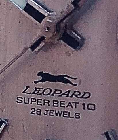 Relógio Citizen Leopard 28 Jewels Hi Beat Antigo No Estojo
