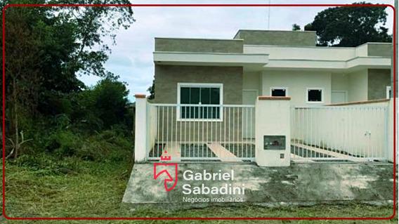Casa Nova,ótima Localização Baln.recanto Do Farol Itapoá-sc