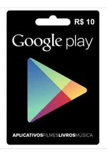 Cartão Pré-pago Google 10 Reais Por 14,11 ( Leia )