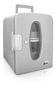 Mini Cooler Quente E Frio Prata 220v