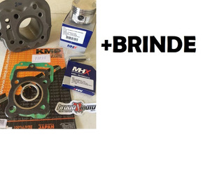 Kit Aumento Cilindrada Titan 2002 Fan 2008 Bros P/ 150cc 4mm