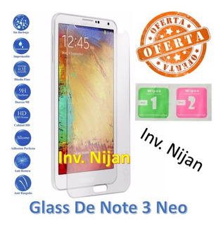 Protector De Pantalla Vidrio Templado De Samsung Note 3 Neo