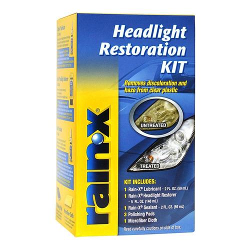 Limpiador Profundo Para Opticas Auto Rain X Headlight