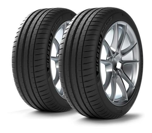 Imagen 1 de 12 de Kit X2 Neumáticos 255/45/19 Michelin Pilot Sport 4 Acoustic