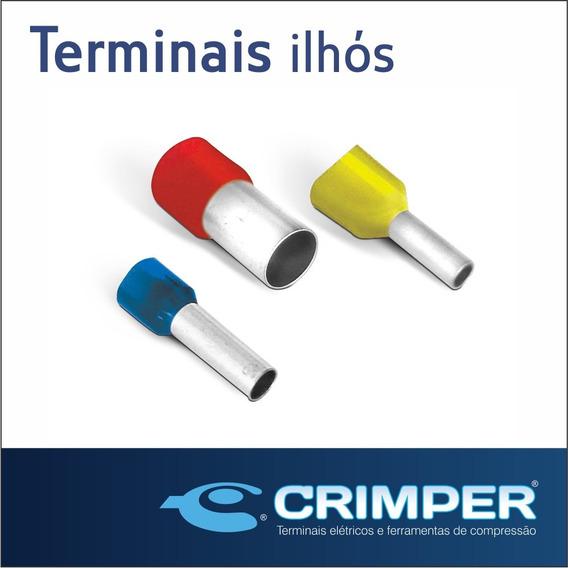 Terminal Elétrico Tubular Ilhós 380 Peças
