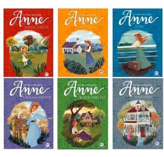 Kit Coleção 6 Livros - Anne De Green Gables - Envio Imediato
