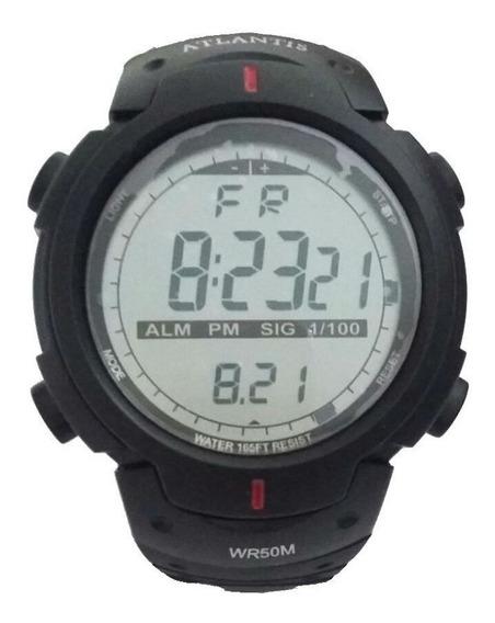 Relógio Atlantis Sport Crono Digital Prova D