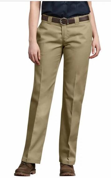 Pantalon De Trabajo Original Dickies Dama Color Beige