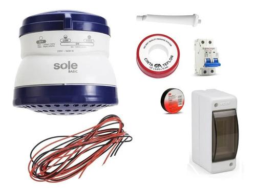 Ducha Electrica Automatica Basic 5.5 Sole
