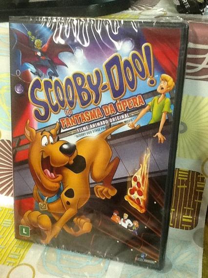 Dvd Scooby-doo E O Fantasma Da Ópera Filme