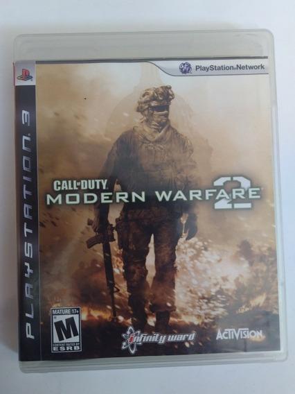 Jogo Call Of Duty Modern Warfare 2 Ps3 Física R$39,80