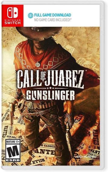 Call Of Juarez - Switch - Na Caixa ( Código Para Download )