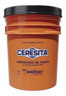 Ceresita Weber Hidrofugo 10 K Pasta Pared Exterior Pisotecho