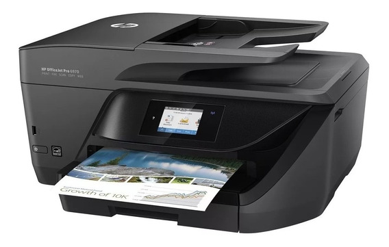 Impressora Hp Multifuncional Officejet Pro 6970