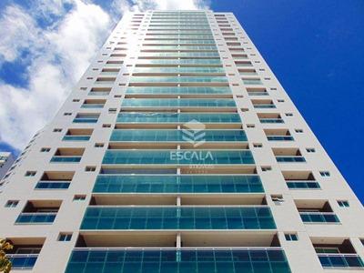 Apartamento Com 4 Quartos, 189 M², Novo, Área De Lazer, 3 Vagas, Financia - Papicu - Fortaleza/ce - Ap0188